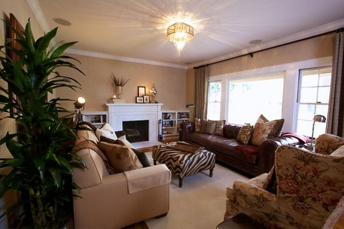 Vintage Living Room photo by Kerrie Kelly Design Lab