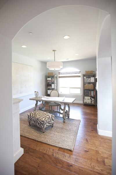 Contemporary Home Office photo by Kerrie Kelly Design Lab