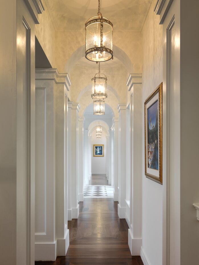 Contemporary Entryway and Hallway photo by B. Pila Design Studio