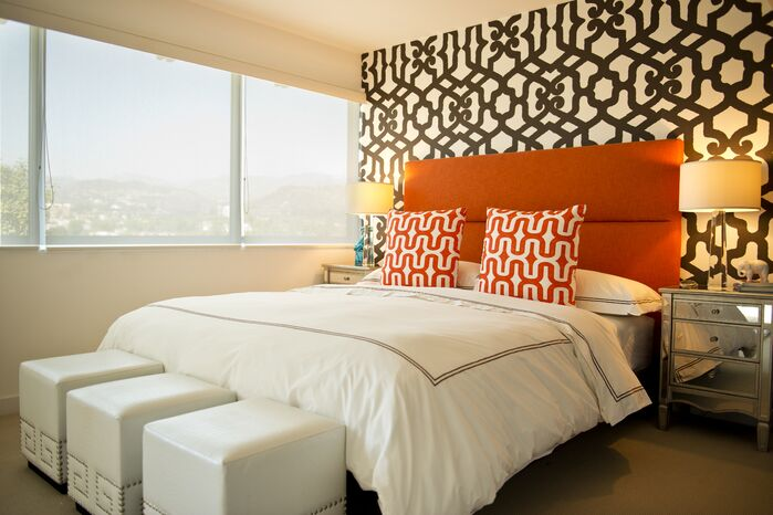 Contemporary Bedroom photo by Design Rescue LA