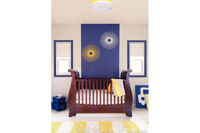 Children's Nursery photo by Little Crown Interiors