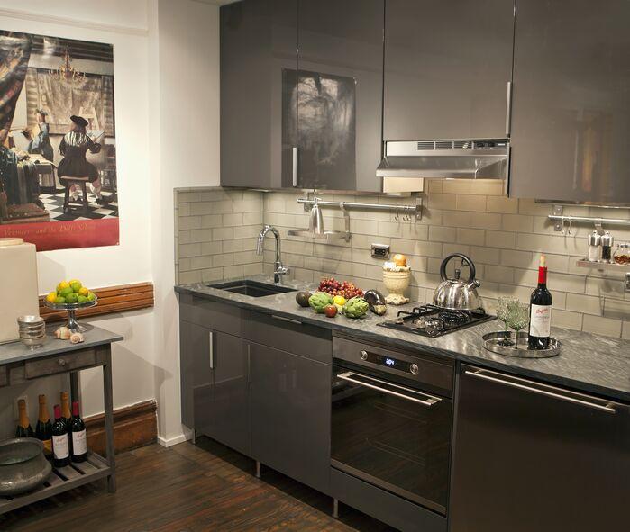 Contemporary Kitchen photo by Barbara Saskia Design