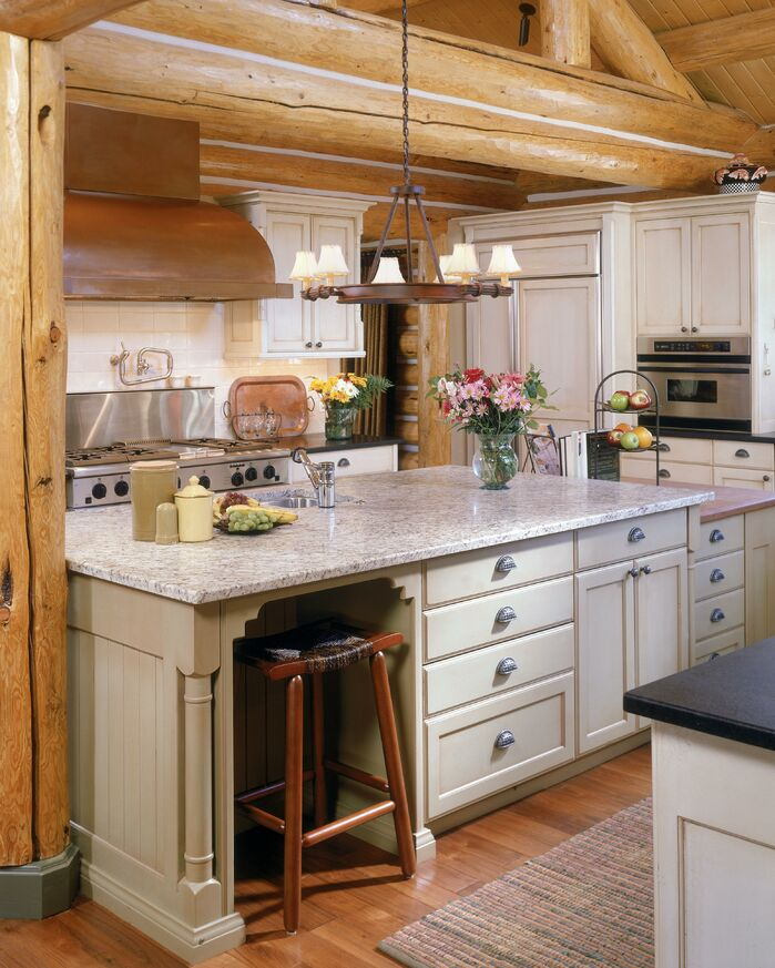Rustic Kitchen photo by Benning Design