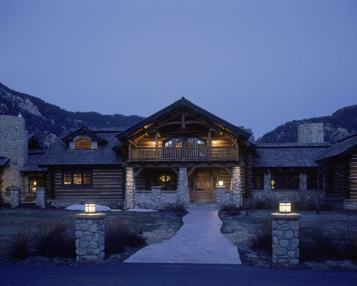 Cottage/Country Exterior/Patio photo by Benning Design
