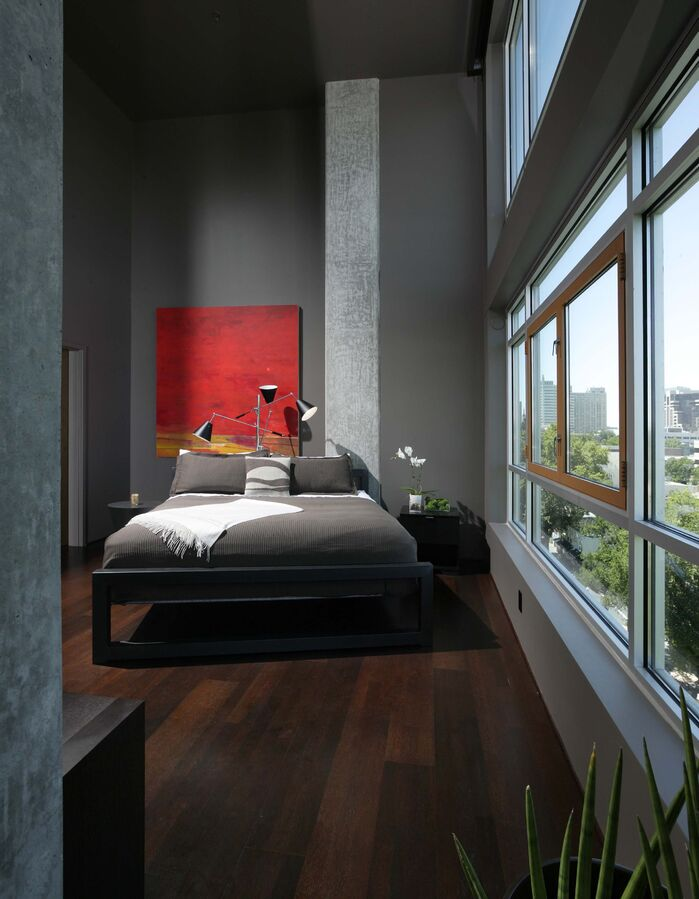 Modern Bedroom photo by Benning Design