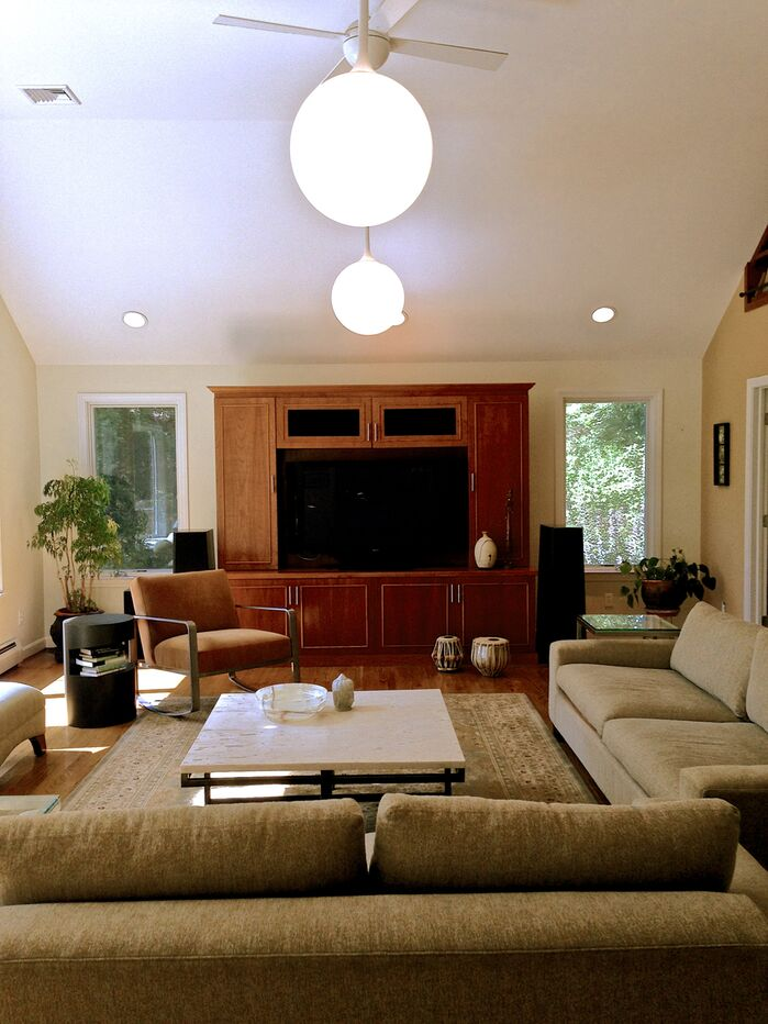 Contemporary Living Room photo by Seema Shah-Nelson