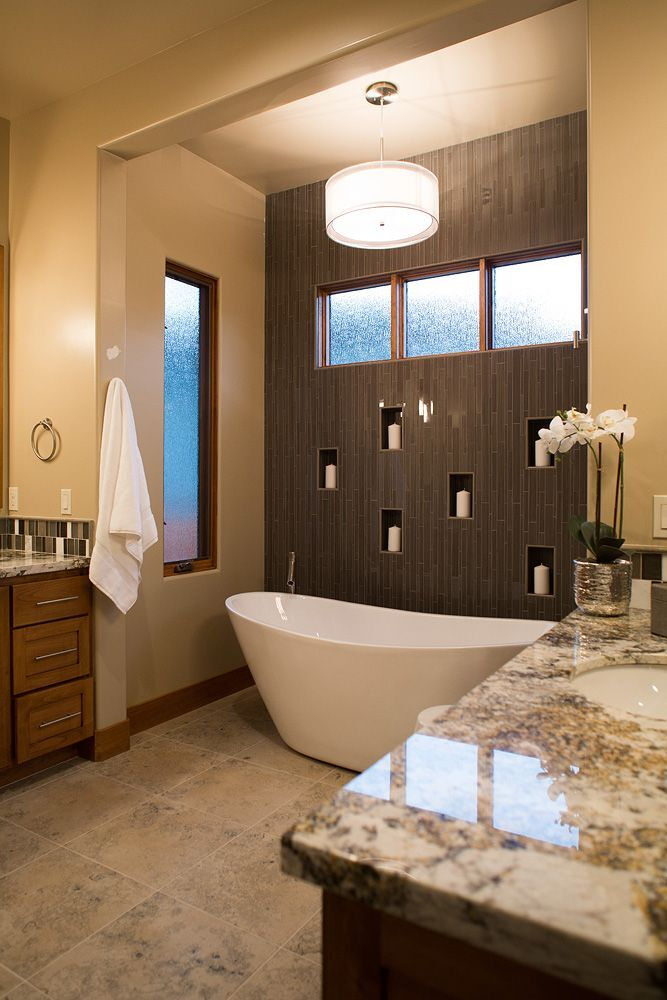 Contemporary Bathroom photo by Anne Sacco Interiors