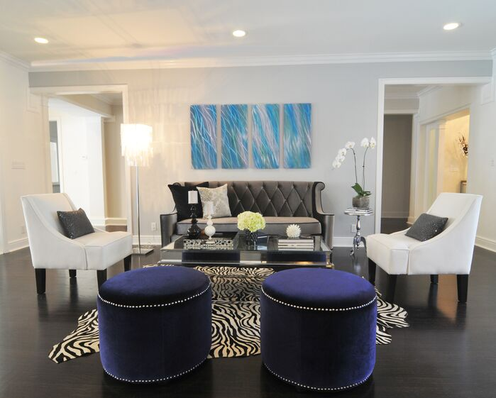 Eclectic Living Room photo by Concept 2 Design Studio