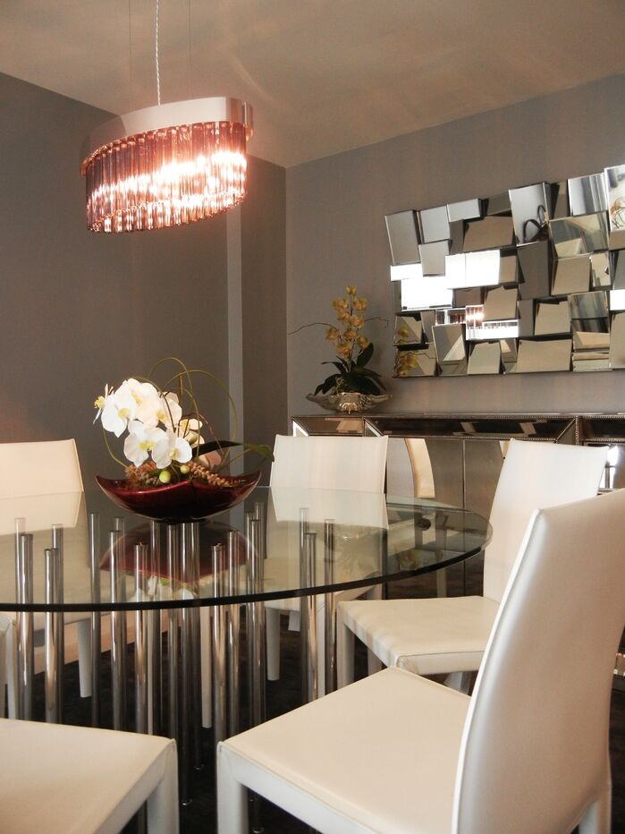 Modern Dining Room photo by Concept 2 Design Studio