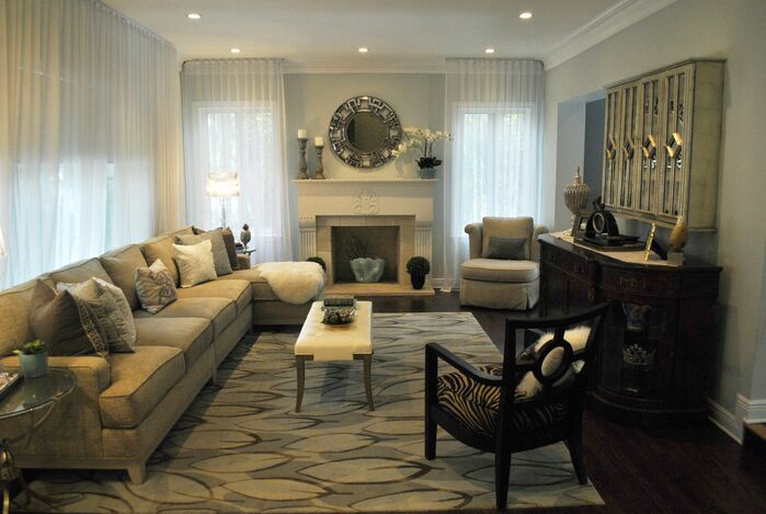 Contemporary Living Room photo by Concept 2 Design