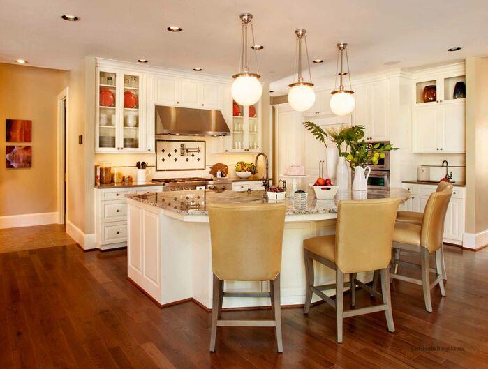 Contemporary Kitchen photo by Garrison Hullinger Interior Design