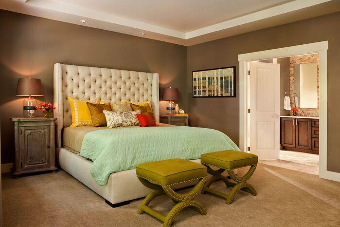 Contemporary Bedroom photo by Garrison Hullinger Interior Design