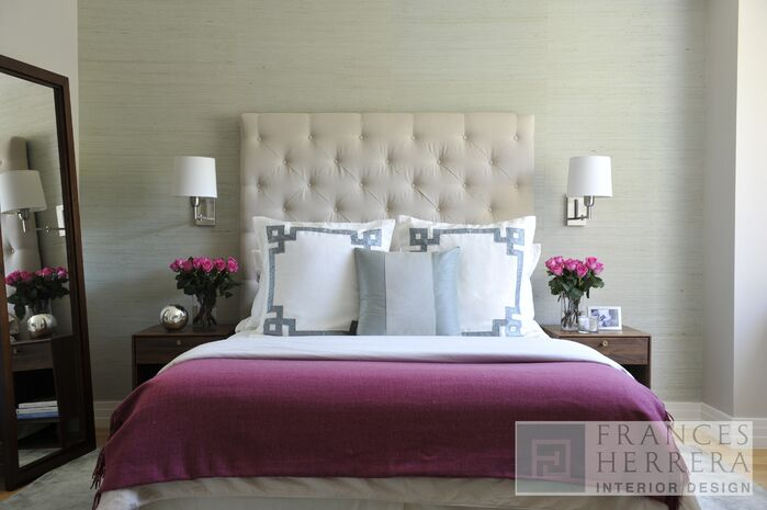 Contemporary Bedroom photo by Frances Herrera Interior Design