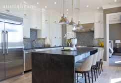 Glam Kitchen photo by Austin Bean Design Studio
