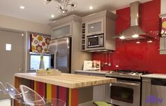 Eclectic Kitchen photo by HGTV