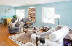 Eclectic Living room photo by HGTV