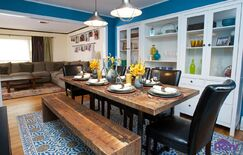 Rustic Dining room photo by HGTV