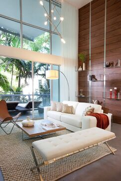 Eclectic Living room photo by DKOR Interiors
