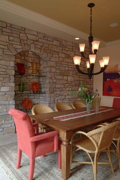 French Country Dining room photo by Ware Design Build