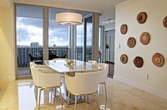 Contemporary Dining room photo by Interiors by Maite Granda, Inc