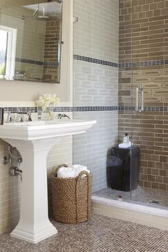 Traditional Bathroom photo by Urrutia Design