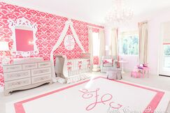 Luxury Pink Girls Nursery