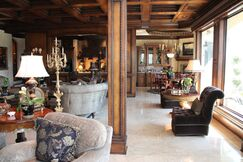Traditional Living room photo by Melody Jurick Designs