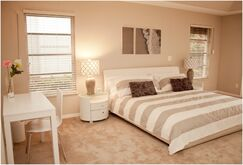 Modern Bedroom photo by Olen Designs LLC