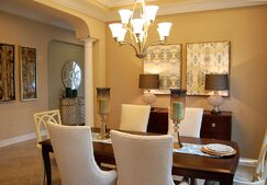Contemporary Dining room photo by Masterpiece Interiors, Inc.