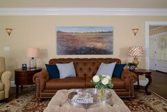 Traditional Living room photo by Kerrie Kelly Design Lab