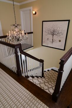 Traditional Entryway and Hallway photo by Kerrie Kelly Design Lab