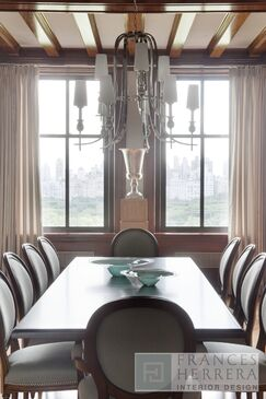 Contemporary Dining room photo by Frances Herrera Interior Design