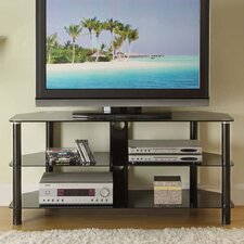 "<strong>Innovex</strong> 52"" Glass TV Stand"