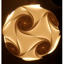 Small Nimbus Lightshade in White by Electric Firefly