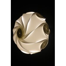 Sol Lightshade in White by Electric Firefly