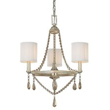 5th Avenue 3 Light Chandelier