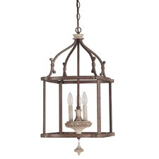 Chateau 3 Light Foyer Pendant
