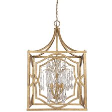 <strong>Capital Lighting</strong> Blakely 6 Light Foyer Pendant