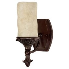 Mediterranean 1 Light Wall Sconce