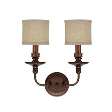 <strong>Capital Lighting</strong> Midtown 2 Light Wall Sconce