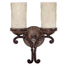 <strong>Capital Lighting</strong> Highlands 2 Light Wall Sconce