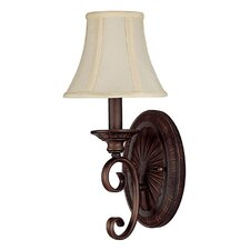 <strong>Capital Lighting</strong> Hammond 1 Light Wall Sconce