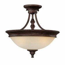Hill House 2 Light Semi Flush Mount