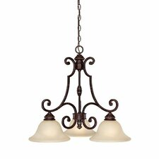Barclay 3 Light Chandelier