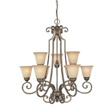 Barclay 9 Light Chandelier