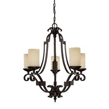 River Crest 5 Light Chandelier