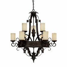 River Crest 9 Light Chandelier