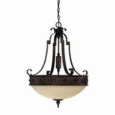 River Crest 3 Light Inverted Pendant