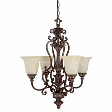 Chesterfield 4 Light Chandelier