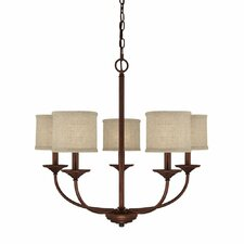 Loft 5 Light Chandelier